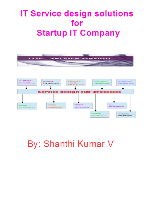 It service design-startup-Coverpage
