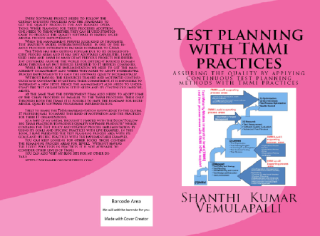 Cover-page-Test plan-create space