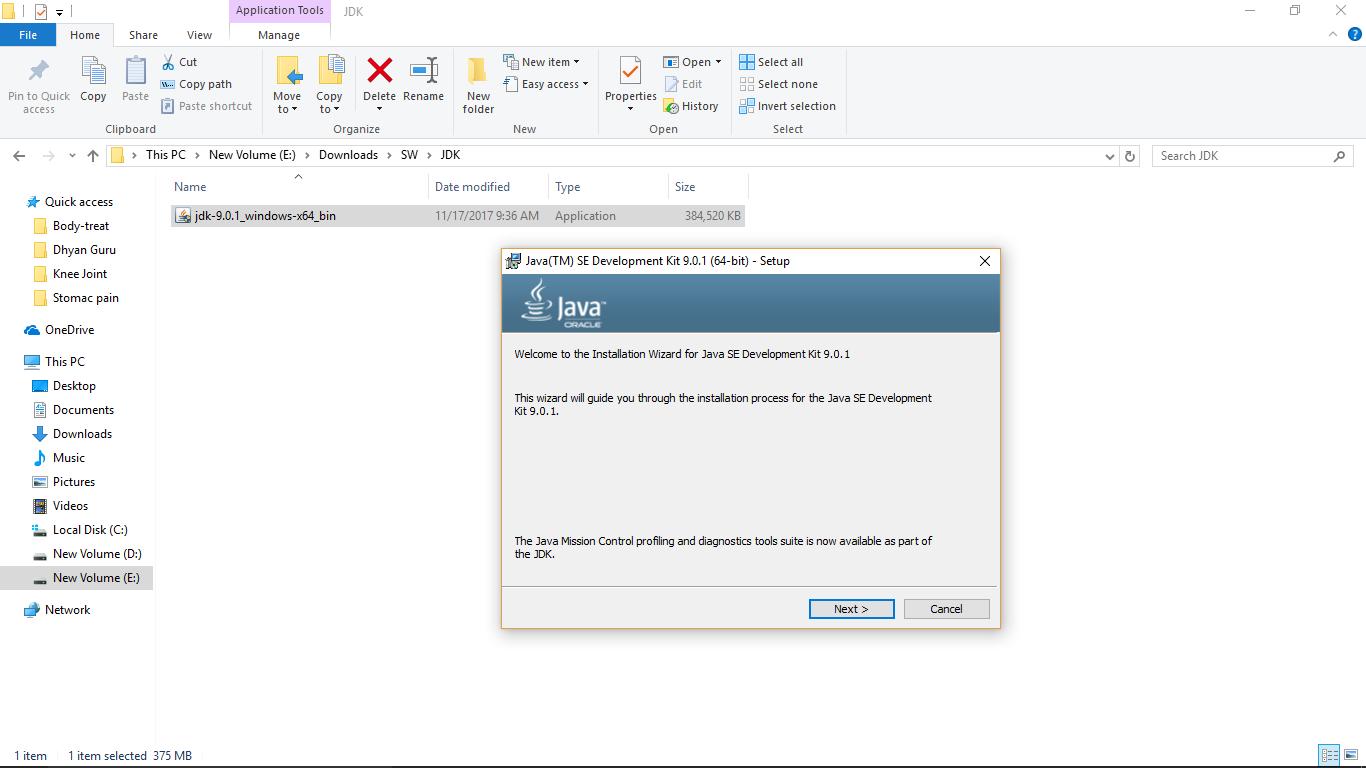 Java SE 9 install scrn-1
