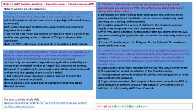 AWS-SAA-FAQs-on Introduction-Qs 17-20