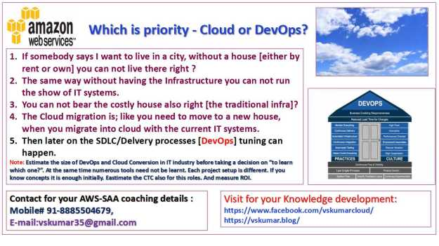 Which priority Cloud or DevOps-2