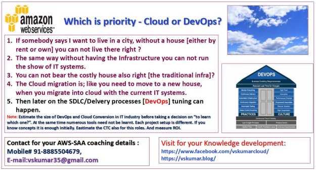 Which priority Cloud or DevOps-2