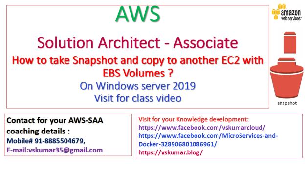 AWS-Snapshot-EBS